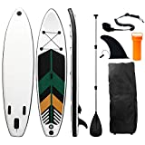 Inflatable Stand Up Paddle Board, 10' x 30'' x 6'' Durable Lightweight Touring