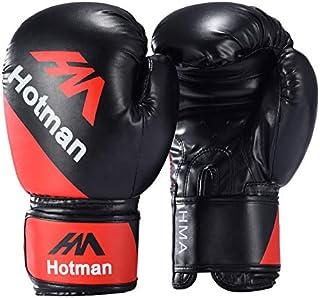 QZPM Guantes de Boxeo, Kickboxing Muay Thai Bolsa de Boxeo MMA Pro Training Sparring Guantes de Lucha de Las puntuaciones para los Hombres y de Las Mujeres,1,Kids