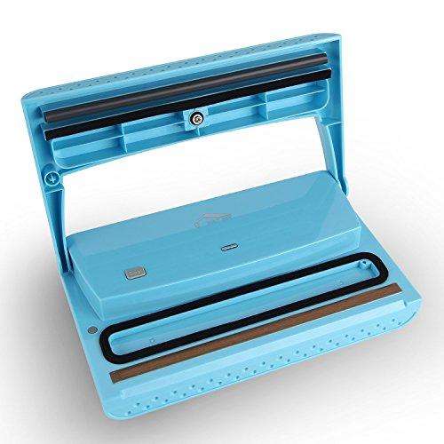 『Joly Joy 真空パック器 脱気密封 真空シーラー 多機能 フードシーラー 業務用 家庭用 真空パック機 ブルー』の2枚目の画像