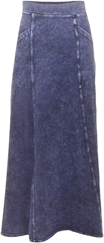 Hard Tail Angle Pocket Long Skirt