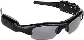 超かっこいいメガネ型カメラ&ビデオ モバイルメガネレコーダー スポーツメガネカメラ 画素1600*1200 解像度1280*720 スパイカメラ ストーカ対策 HD高画質 監視カメラ 録画 撮影 ブラック 最大32GB対応 ストーカー、セクハラ、パワハラ、イジメ、虐待の証拠撮り