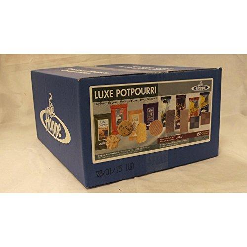 Hoppe Kaffee-Kekse Luxe Potpourri, 150 Stück einzeln verpackt (Luxusmischung)