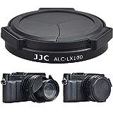 JJC Tapa de Objetivo Automática para Panasonic DC-LX100II, Lumix DMC-LX100, Leica D-LUX (Typ 109) Sustituye DMW-LFAC1 - Negro