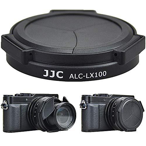 JJC Spezial Automatik Objektivdeckel für Panasonic DC-LX100II, Lumix DMC-LX100, Leica D-LUX (Typ 109), D-LUX 7 Kamera