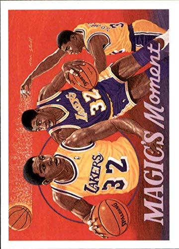 Basketball NBA 1991-92 Upper Deck #29 Magic Johnson #29 NM SP Lakers