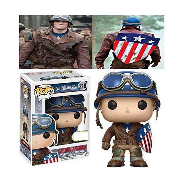 Funko Pop Capitán América II GM (Capitán América: El Primer Vengador 219) Funko Pop Capitán américa