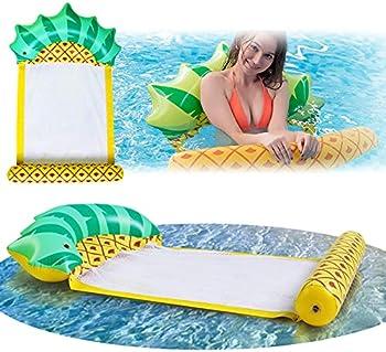 Inflatable Pool Float Hammock Floaties Lounger Rafts Floating Tubes