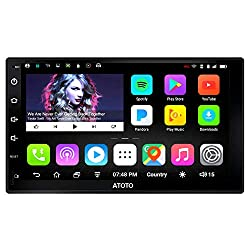 commercial ATOTO A6 Universal 2-inch Android Car Radio, Dual Bluetooth-Standard A6Y2710S… dual radio system