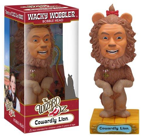 Cowardly Lion ( Leão Covarde ) - The Wizard of Oz ( O Mágico de Oz ) - Funko Wacky Wobbler