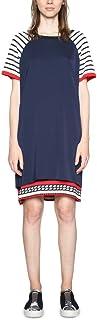 فستان حريمي قصير الأكمام من ديسيجوال