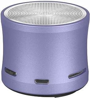 $123 » HXHLZY Bluetooth Speaker High-def Sound Remote Shutter-take Tf Card Player Wireless Metal Portable Speaker (Color : Blue)
