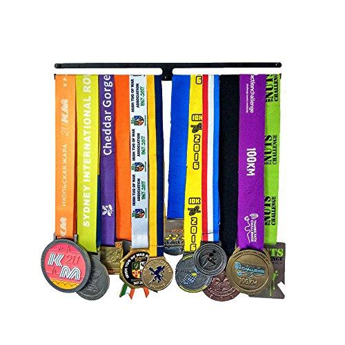Medaillenhalter | Medaille anzeigen Metallklammer | Medal Rack Weiter Laufen | Läufer Medaillenhalter | Medaillenständer | Trophäenhalter