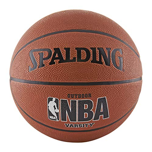 Affordable Spalding NBA Varsity Rubber Outdoor Basketball - Intermediate Size 6 (28.5)