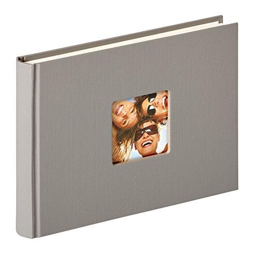 Walther design FA-207-X Designalbum Fun, grau, 22 x 16 cm