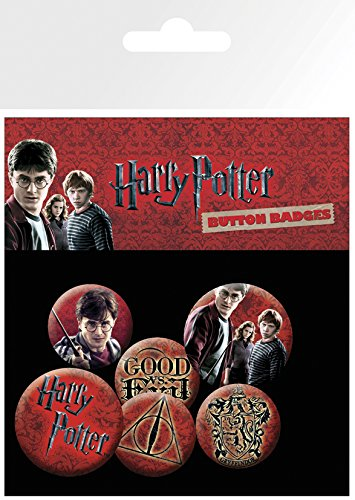 Harry Potter BP0353 Icon Button Badge Pack - Multi-colour