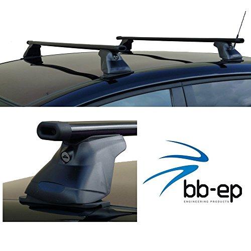 BB-EP Barres de toit 90114004 pour MERCEDES Classe C (W205) - 4 Portes (berline, à partir de 04/2014 jusqu'à aujourd'hui avec points de fixation dans le toit (également avec toit en verre)