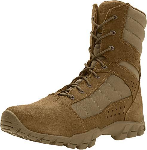 Bates Cobra 8' Hot Weather Boot Men 5.5 Coyote Brown