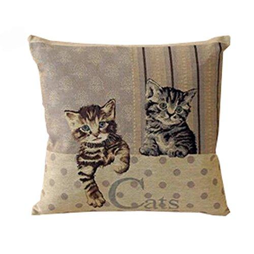 Alien Storehouse Coussin/Linge de Maison Canapé Home Décor Design Throw Confortable Oreiller,Cat