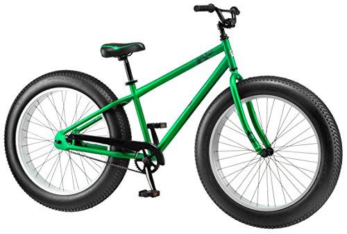 Mongoose Beast Men's Fat Tire Bicycle, Green, 26'