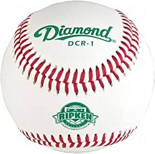 Diamond Dcr-1 Cal Ripken League Leather Baseballs 12 Ball Pack
