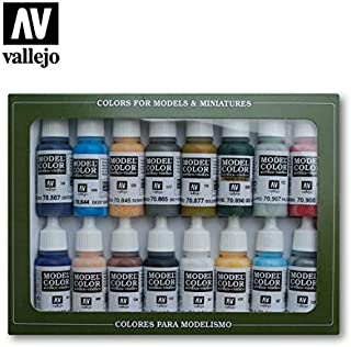 Vallejo Model Color Set - American Civil War (x16 Colours) - VAL70111