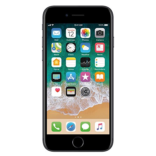 Apple iphone 7 128gb Black Matte Liberado de Fabrica (Renewed)