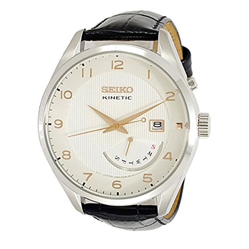 Seiko Herren-Uhren Analog Quarz/Kinetic One Size Leder 86262339