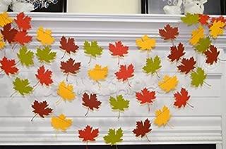 Leaf Wedding Garland, Fall Thanksgiving Decoration, Fall in love, Fall Leaves Wedding Decor Thanksgiving Photo Prop