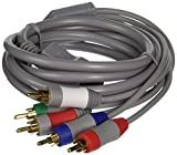 Nintendo Wii Component Cable AV Cable for HDTV/EDTV High Definition 480p  (Bulk Packaging)