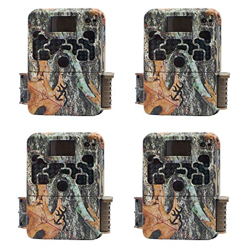 Browning Trail Cameras Strike Force 850 16MP Game Camera, 4 Pack | BTC-5HD-850