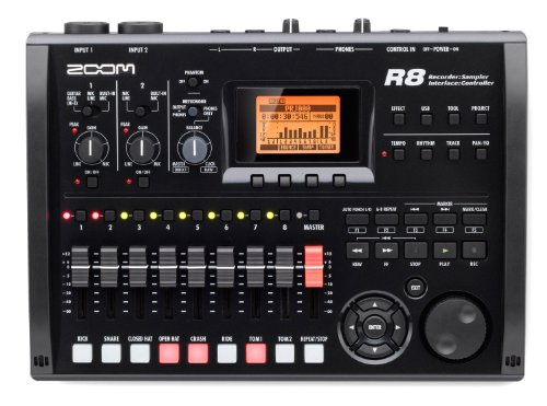 Zoom - R8 equipo grabador interface sampler. grabadora 2