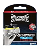 Wilkinson Sword Quattro Titanium Precision Klingen 16 Stück