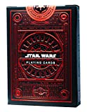 SYNCSPIKE Star Wars Playing Cards & Clear Protective Playing Cards, Playing Cards Deck - Embossed and Foil Stamped (Red) plastic playing cards Dec, 2020