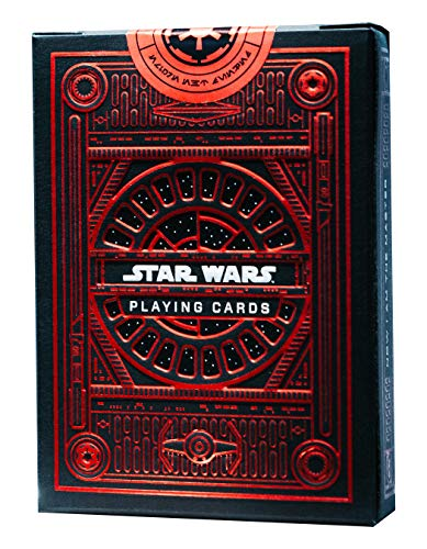Buy Bargain theory11 Star Wars Playing Cards - Dark Side (Red)