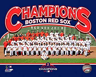 Boston Red Sox 2018 MLB World Series Team Photo (Size: 8