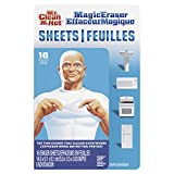 Mr. Clean Magic Eraser Sheets, Cleaning Wipes for Hard to Reach Spaces, 16 Count (Pack of ...