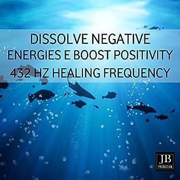 Dissolve Negative Energies & Boost Positivity 432 Hz