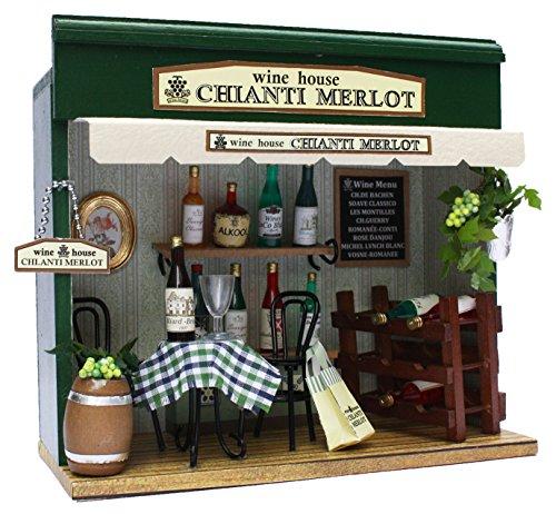 ビリー 手作りドールハウスキット 街角のお店キット ワインハウス 8789