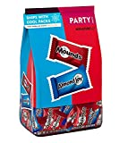 MOUNDS and ALMOND JOY Miniatures Chocolate and Coconut Assortment Candy, Bulk Halloween, 32.1 oz Party Pack