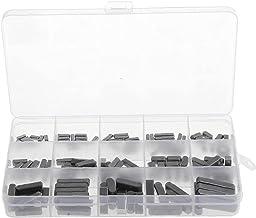 Ronde Ended Veer Sleutel Shat Sleutel Motor As Veer Sleutel Set Parallelle Aandrijfas 3-6mm 140PCS Zwart Industriële Compo...