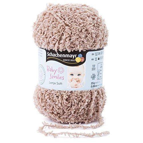 Schachenmayr Baby Smiles Lenja Soft 9807560-01010 kamel Handstrickgarn, Häkelgarn, Babygarn