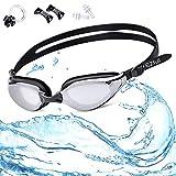 EZfull Gafas de Natación Gafas para Nadar Anti Niebla y Anti Rayos UV para...