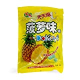 Classic Series Dakeyi Pineapple Hard Candy Hong Yuan 350g Bag