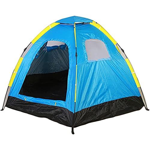 ZFRXIGN Tienda De Campaña Familiar Camping Camping 5-8 Personas Automático Seis ángulos Libres para Construir Tienda De Campaña De Apertura Rápida Tienda Portátil Anti-Ultravioleta