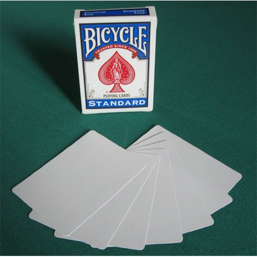 Bicycle Playing cards Gaff Cards - Double White Back - Card Games - Magic...