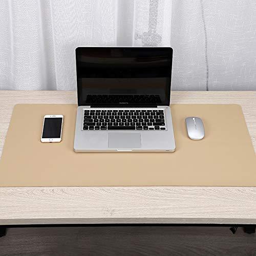 Alfombra grande de ratón para ordenador de escritorio, alfombra de piel, antideslizante, juego de alfombrilla de ratón