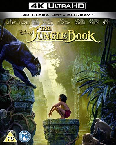 Disney's The Jungle Book (live action) UHD [Blu-ray] [2020] [Region Free]