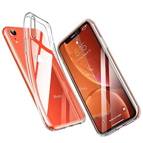 ESR Cover per iPhone XR, Custodia Gel Trasparente Morbida Silicone Sottile TPU [Ultra Leggera e Chiaro] per Apple iPhone XR da 6.1 Pollici (Uscito a 2018).