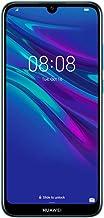 """Huawei Y6 2019 MRD-LX3 6.09"""" Dewdrop Display 32GB 2GB RAM Dual SIM 13MP+ 8MP A-GPS Fingerprint Factory Unlocked No Warranty US (Blue)"""