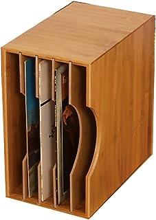 Disco de Vinilo LP Caja de Almacenamiento, CD/Libro/Rack de Almacenamiento de CD/DVD, Clásica Estante de Madera Estante de exhibición de la colección del gabinete (Size : 35 * 33 * 20cm)